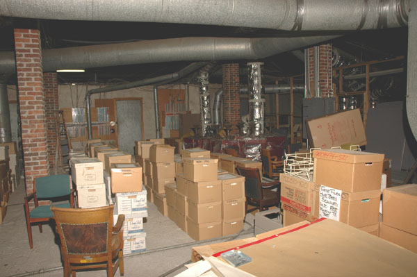 Attic of the Weld                       County Courthouse