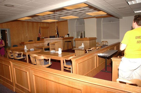 In the Courtroom