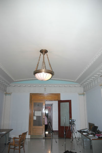 Hallway                         in the Courthouse